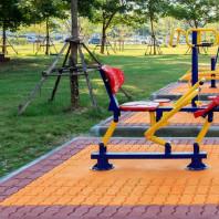 Zabawki stalowe na plac zabaw